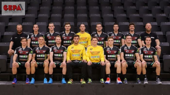 HANDBALL - HLA, Graz, team photoshooting